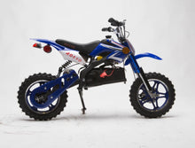 Load image into Gallery viewer, IN STOCK 36v 1000 Electric Dirt Bike - ONYX DIRT BIKE Gva Brands Blue