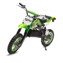 Load image into Gallery viewer, IN STOCK 36v 1000 Electric Dirt Bike - ONYX DIRT BIKE Gva Brands Green