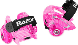 Jetts DLX Heel Wheels Razor Pink