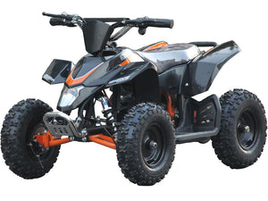 MotoTec 24v Kids ATV v3 Big Toys USA Black