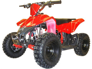 MotoTec 24v Kids ATV v3 Big Toys USA Red