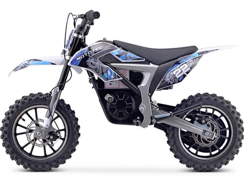 MotoTec 36v 500w Demon Electric Dirt Bike Lithium Big Toys USA