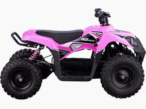 MotoTec 36v 500w Kids ATV Monster v6 Big Toys USA Pink