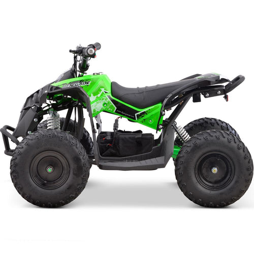 MotoTec 36v 500w Renegade Shaft Drive Kids ATV Big Toys USA