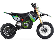 Load image into Gallery viewer, MotoTec 36v Pro Electric Dirt Bike 1000w Lithium Green Big Toys USA