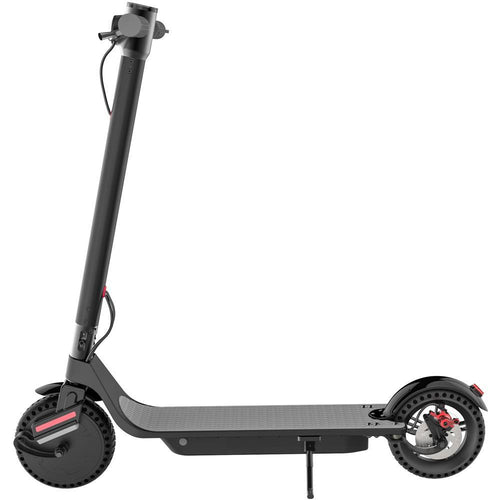 MotoTec 853 Pro 36v 7.5ah 350w Lithium Electric Scooter Black Big Toys USA
