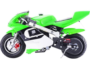 MotoTec GBmoto Gas Pocket Bike 40cc 4-Stroke Big Toys USA