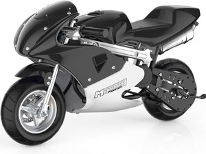 MotoTec Phantom Gas Pocket Bike 49cc 2-Stroke Big Toys USA