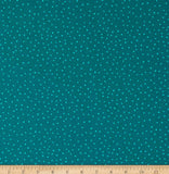 'Floral' by FIGO Fabrics - Dots, Green