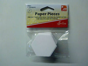 "Sew Easy 1"" Hexagon Papers"