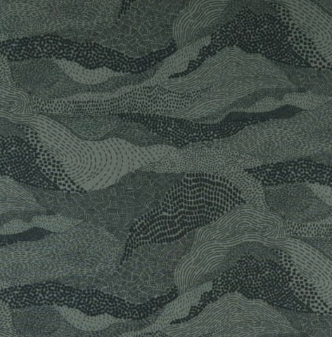 'Elements' by FIGO Fabrics - Earth, Green