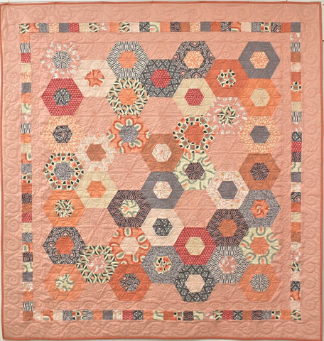 'Gemstones' PDF quilt pattern