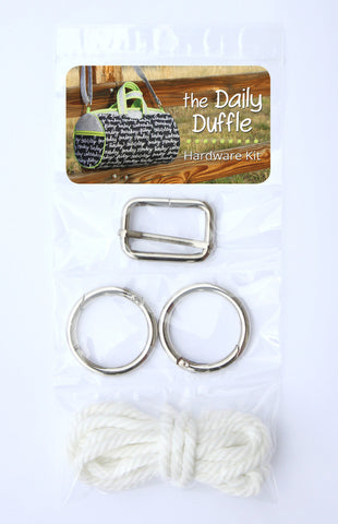'The Daily Duffle' Hardware Kit