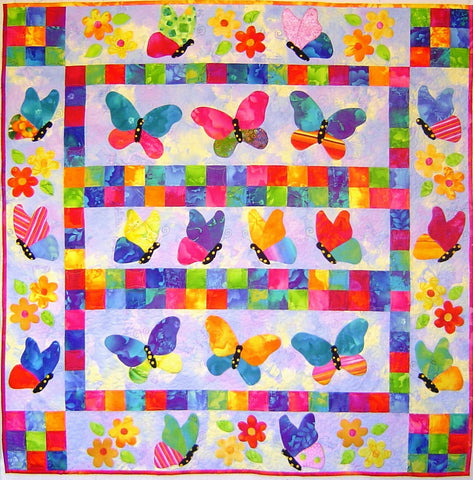 'Butterfly Beauties' Pattern