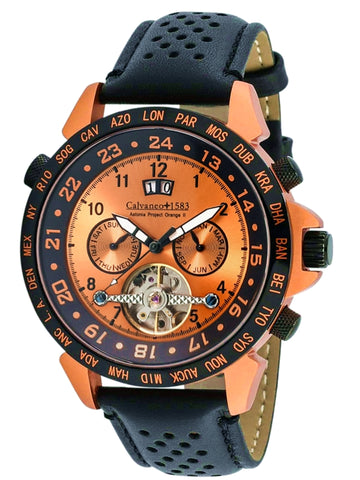 Calvaneo 1583 Astonia Project Orange II ALUMINIUM Edition automatik