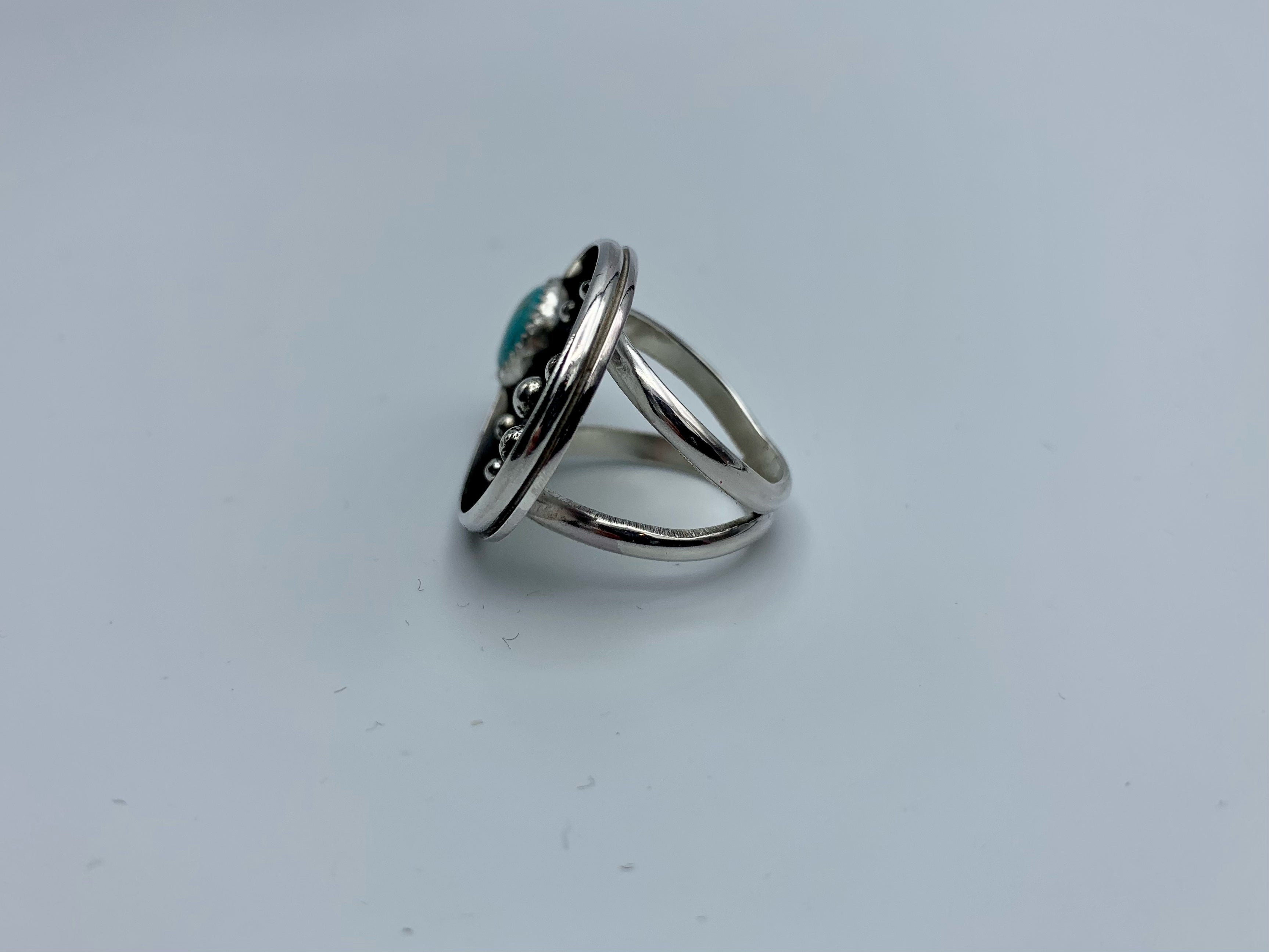 Turquoise Universe Ring