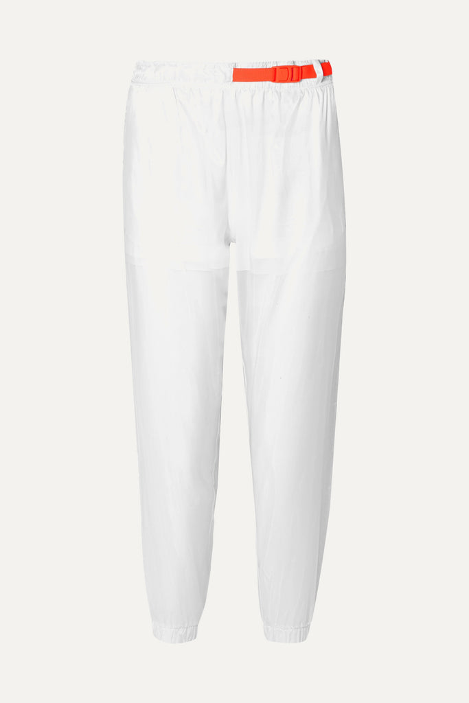 NIKE Tech Pack Belted Shell Track Pants In White