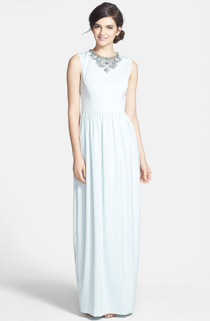 Ted Baker London Neliosa Embellished Crepe Gown
