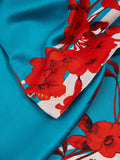 Ted Baker Claudi Fantasia Floral Silk Cape Scarf