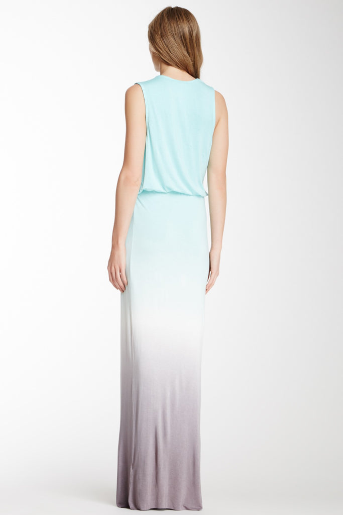YFB by Young Fabulous and Broke Lina Maxi Dress in Sky Ombre
