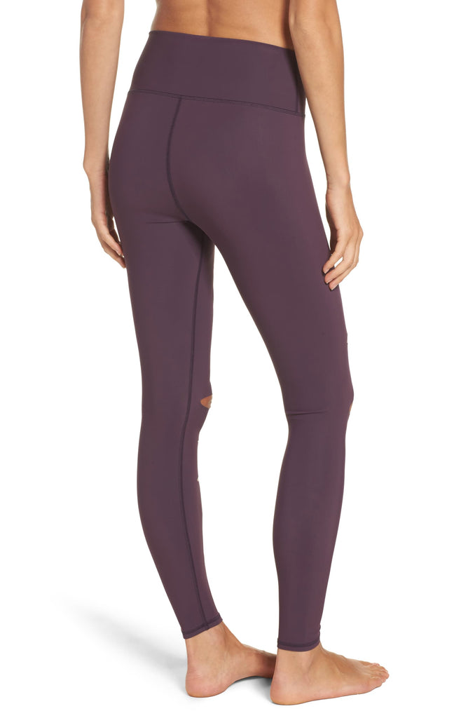 Alo Yoga High Waisted Ripped Warrior Leggings