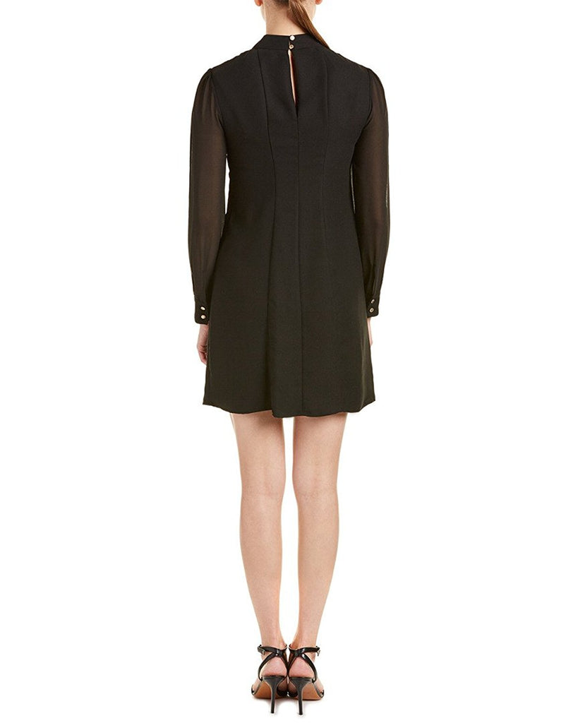 Cynthia Steffe Split Sleeve Arden Blouson Flared Shift Dress