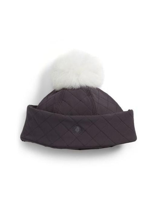 Ugg Australia Water Resistant Quilted Hat