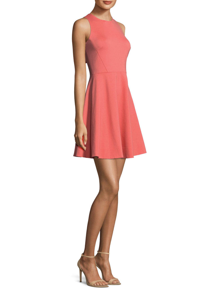 Kate Spade New York Ponte Bow Flared Dress 8 10 Nwt dresses Cocktail Watermelon