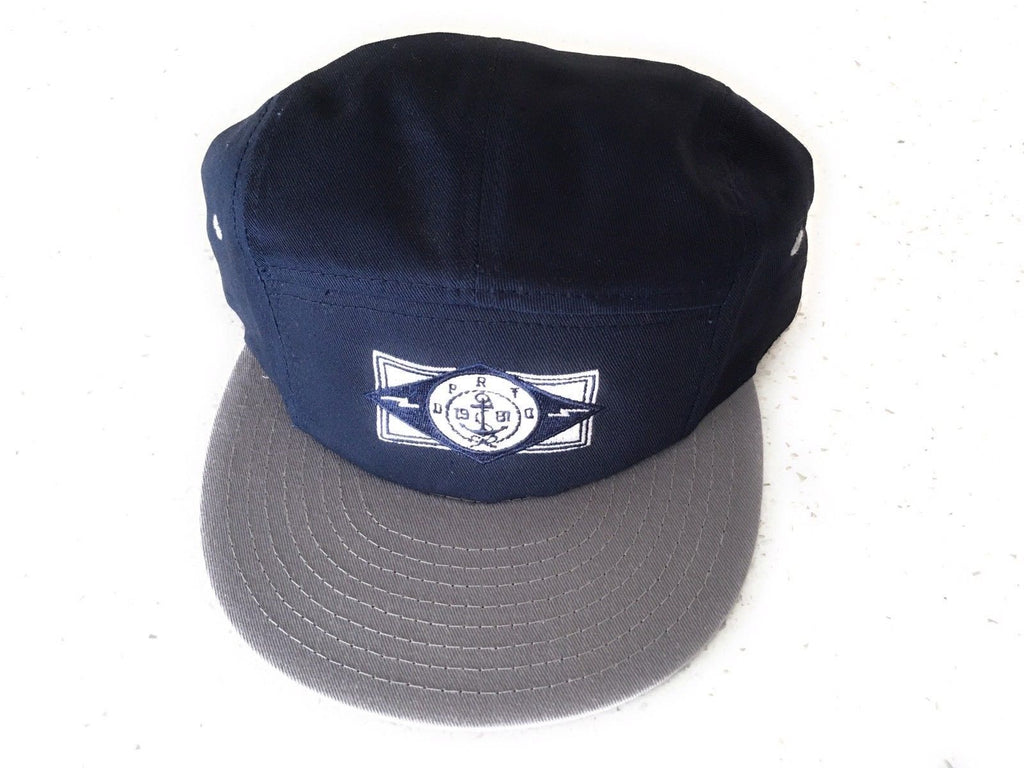 The Dearly Departed Company 1981 Navy Blue Gray Baseball Hat