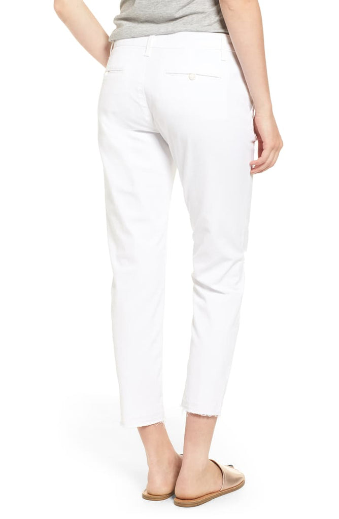 AG Jeans The Tristan High Rise Ripped Trousers