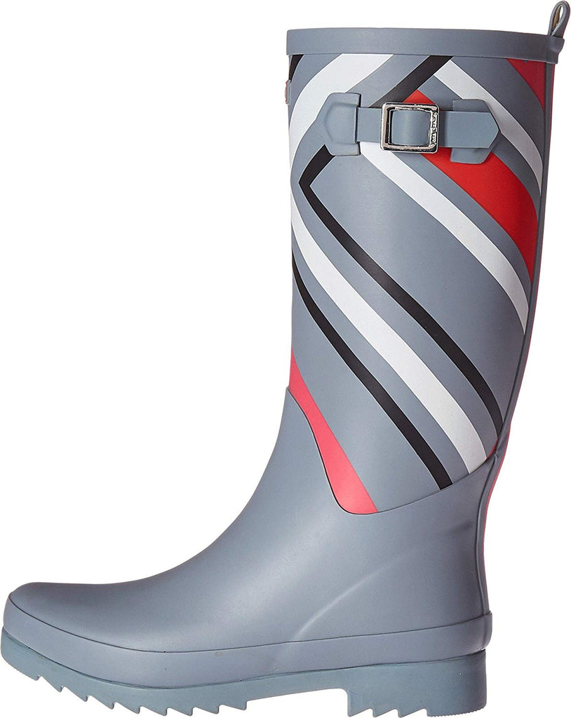 Vera Bradley Waterproof Rain Boots Northern Stripes Pattern