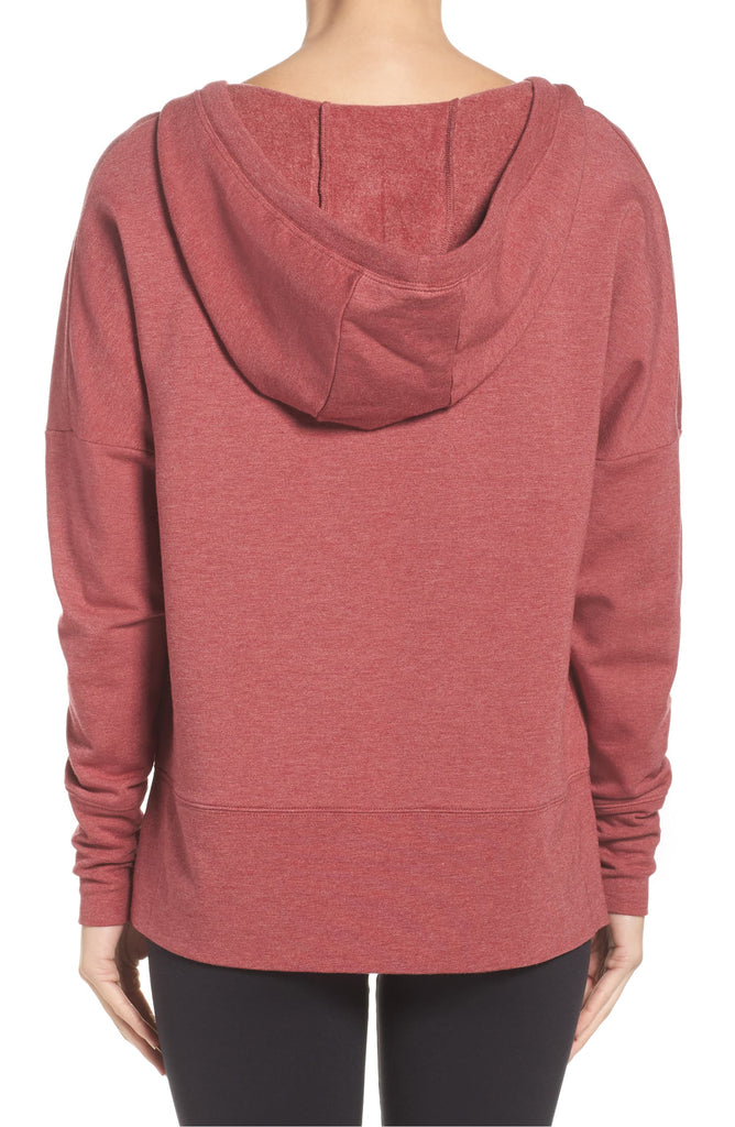 Alo Yoga Dropped Shoulder Fluid Tunic Hoodie
