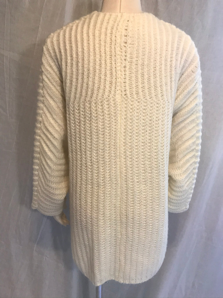 Free People Ivory Chunky Sweater