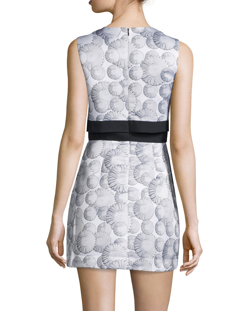 Cynthia Rowley Sleeveless Printed Popover Dress