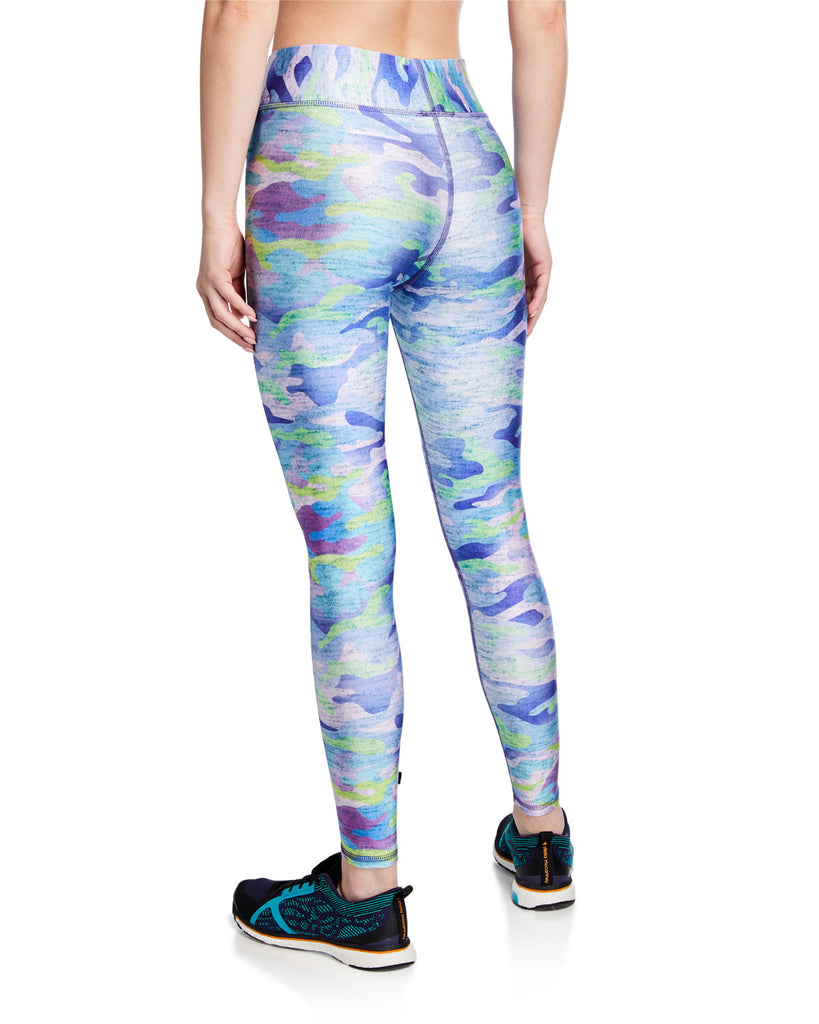 Terez High-Rise Camo-Print Performance Leggings