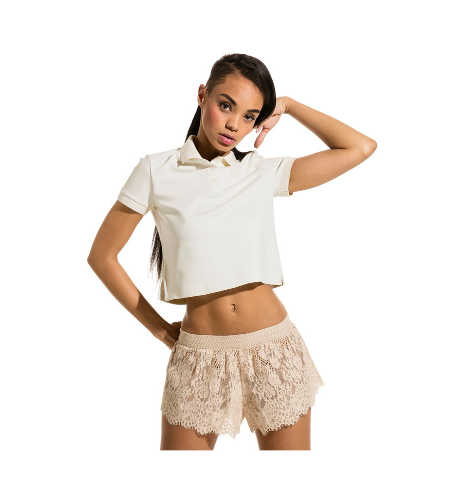 Fenty Puma by Rihanna Baby Crop Polo Shirt