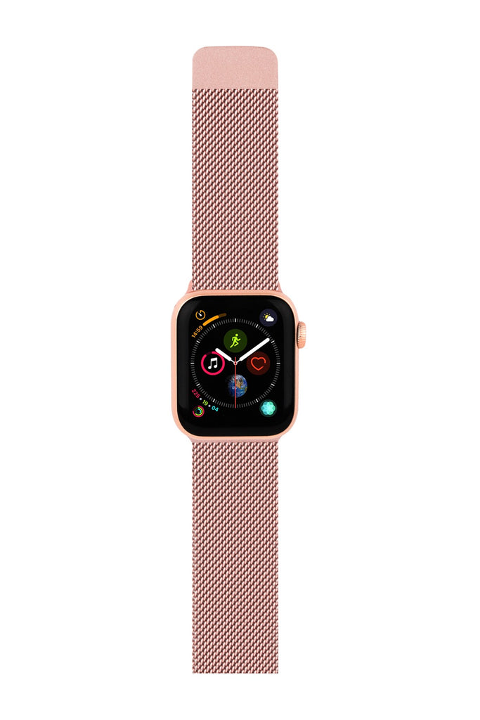 CYLO Rose Stainless Steel Apple Watch Strap