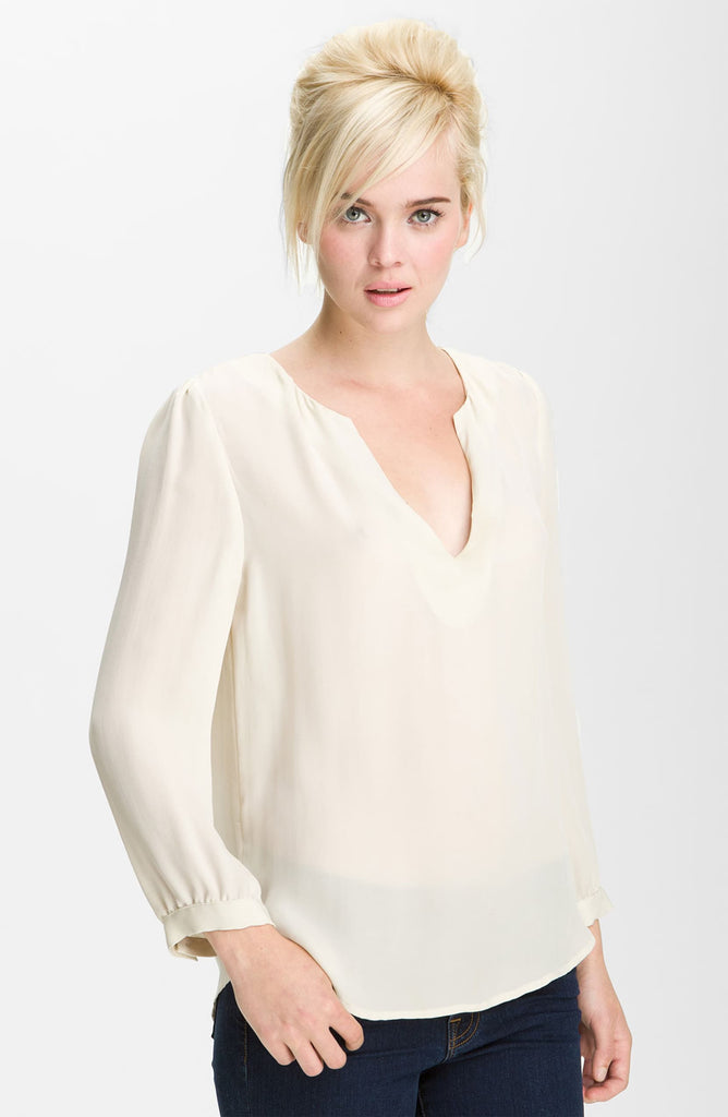 Joie Pearline Silk Blouse