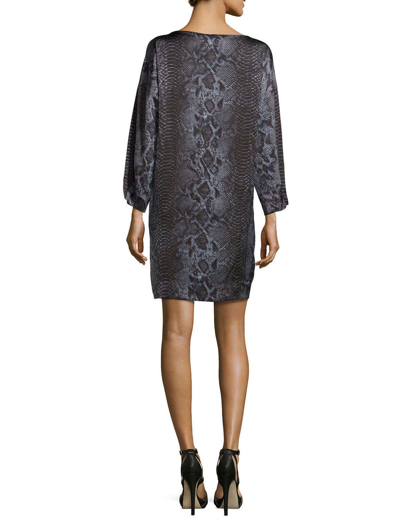 Stella McCartney Python Silk Tie Dress