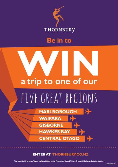 Be in to win a trip to one of our five great regions