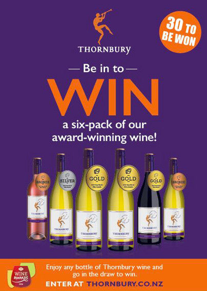 Be in to win a Medalled Pack of Thornbury Wines