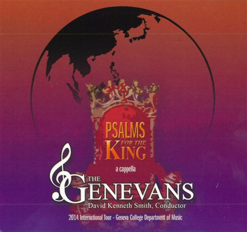 Psalms for the King CD