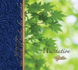 Meditation: Selections From The Book of Psalms for Worship CD