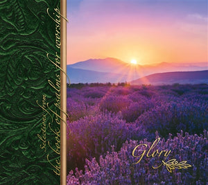 Glory: Selections From the Book of Psalms for Worship CD