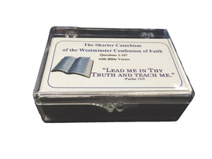 Shorter Catechism Memory Cards