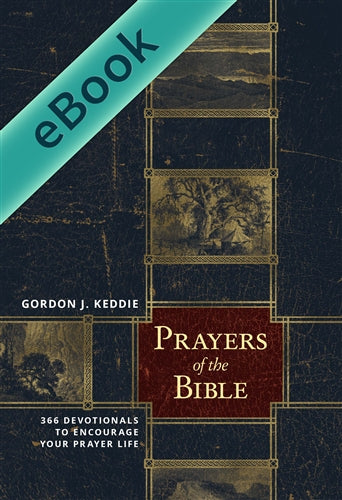 Prayers of the Bible: 366 Devotionals to Encourage Your Prayer Life (EBOOK)