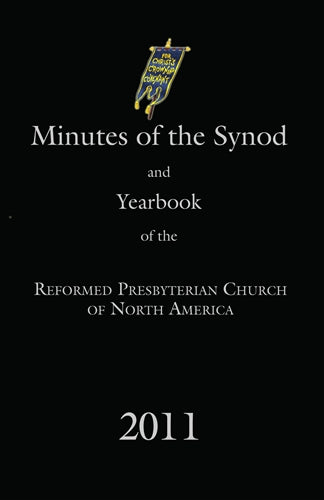 Minutes of Synod and Yearbook 2011, Digital version