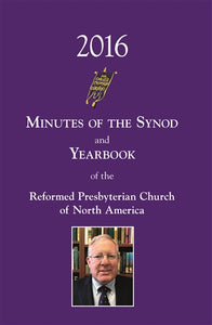 Minutes of Synod 2016, Digital Version