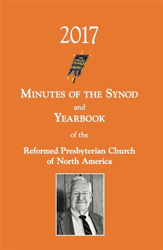Minutes of Synod and Yearbook 2017