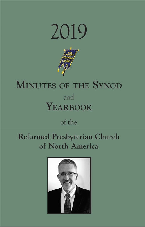 Minutes of Synod and Yearbook 2019